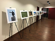 Poland, Warsaw - 2018 January 23: Photo Exhibition Ashgabat 2017 by &copy; Adam Nurkiewicz at Asia Museum on January 23, 2018 in Warsaw, Poland.<br /> <br /> Mandatory credit:<br /> Photo by &copy; Adam Nurkiewicz<br /> <br /> Adam Nurkiewicz declares that he has no rights to the image of people at the photographs of his authorship.<br /> <br /> Picture also available in RAW (NEF) or TIFF format on special request.<br /> <br /> Any editorial, commercial or promotional use requires written permission from the author of image.