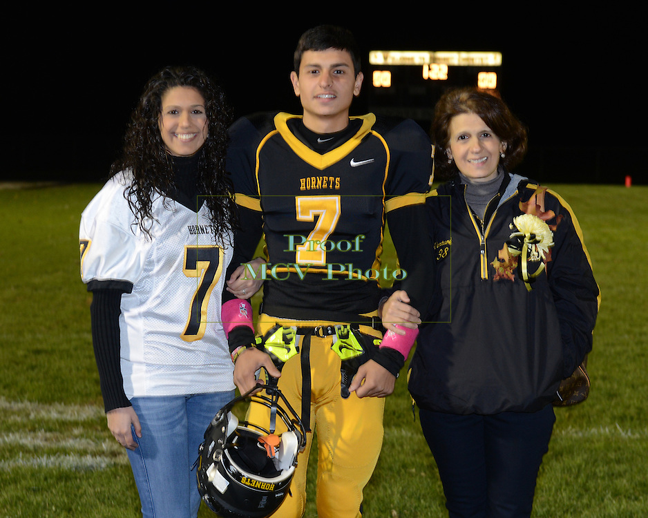 Hanover Park, NJ 10/25/2013 - Hanover Park High School Senior Night. (Photo: Eugene Parciasepe, Jr.)