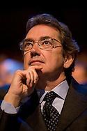 """Roma 21/01/2009 - IV Conferenza nazionale sul Digitale Terrestre dal titolo """"Niente è come prima"""". NELLA FOTO: Franco Bernabè, Amministratore Delegato di Telecom Italia."""
