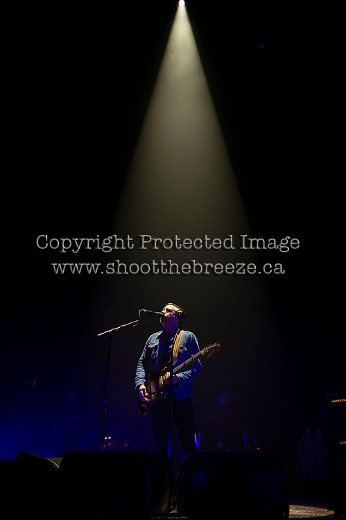 KELOWNA, BC - NOVEMBER 10:  Dallas Green of City and Colour performs at Prospera Place on November 10, 2019 in Kelowna, Canada. (Photo by Marissa Baecker/Shoot the Breeze)