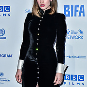 Lily James attends the 22nd British Independent Film Awards at Old Billingsgate on December 01, 2019 in London, England.