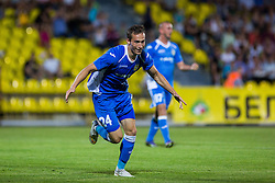 Dejan Trajkovski of NK Domzale during football match between FC Shakhtyor Soligorsk and NK Domzale in first leg match of Second Qualifying Round UEFA Europa league qualifications on July 14, 2016 in Soligorsk, Belarus. Photo by Ziga Zupan / Sportida
