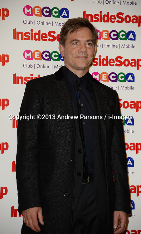 Inside Soap Awards.<br /> John Michie arrives for the Inside Soap Awards, Ministry of Sound, London, United Kingdom,<br /> Monday, 21st October 2013. Picture by Andrew Parsons / i-Images