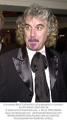 Comedian BILLY CONNOLLY at a reception in London on 5th March 2002.			OXY 44