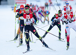21.12.2014, Nordische Arena, Ramsau, AUT, FIS Nordische Kombination Weltcup, Langlauf, im Bild Jason Lamy Chappuis (FRA) // during Cross Country Gundersen 10 km of FIS Nordic Combined World Cup, at the Nordic Arena in Ramsau, Austria on 2014/12/21. EXPA Pictures © 2014, EXPA/ JFK