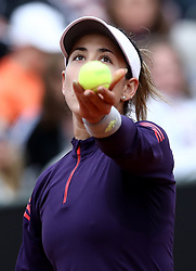 May 13, 2019 - Rome, Italy - Garbine Muguruza (SPA) during the WTA Internazionali d'Italia BNL first round match at Foro Italico in Rome, Italy on May 13, 2019. (Credit Image: © Matteo Ciambelli/NurPhoto via ZUMA Press)