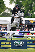 As Is ridden by Andrew Nicholson in the Equi-Trek CCI-4* Show Jumping during the Bramham International Horse Trials 2019 at Bramham Park, Bramham, United Kingdom on 9 June 2019.