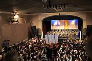Graduation ceremony 2016, University of Falmouth, Cornwall, England, UK