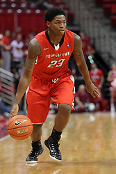 29 November 2014:  Osandai Vaughn during an NCAA men's basketball game between the Youngstown State Penguins and the Illinois State Redbirds  in Redbird Arena, Normal IL.