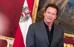 25.03.2017, Präsidentschaftskanzlei, Wien, AUT, Kaliforniens Ex-Gouverneur und Schauspieler Schwarzenegger bei Bundespräsident Van der Bellen zu einem Treffen, im Bild Arnold Schwarzenegger // during meeting between former governor of California Schwarzenegger and federal president of Austria at Federal Presidents Office in Vienna, Austria on 2017/03/25, EXPA Pictures © 2017, PhotoCredit: EXPA/ Michael Gruber