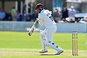 Steve Davies of Somerset batting during the Specsavers County Champ Div 1 match between Somerset County Cricket Club and Worcestershire County Cricket Club at the Cooper Associates County Ground, Taunton, United Kingdom on 20 April 2018. Picture by Graham Hunt.
