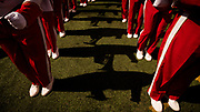 Lincoln, NE - Sept 23: Nebraska Cornhuskers  band before their game against the Rutgers Scarlet Knights at Memorial Stadium in Lincoln Nebraska September 23, 2017. Photo by Eric Francis