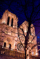 Europa - Paris, catedral de Notre Dame - foto: Daniel Deák