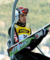 Hopp<br /> FIS World Cup<br /> Verdenscup 2004/2005<br /> 10.12.2004<br /> Harrachov<br /> Foto: Wrofoto/Digitalsport<br /> NORWAY ONLY<br /> <br /> Henning Stensrud