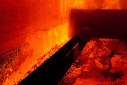 A scene from a metallurgical coke facility.