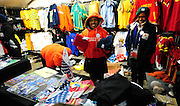 Vendor stall  during the Semi Final soccer match of the 2009 Confederations Cup between Spain and the USA played at the Freestate Stadium,Bloemfontein,South Africa on 24 June 2009.  Photo: Gerhard Steenkamp/Superimage Media.