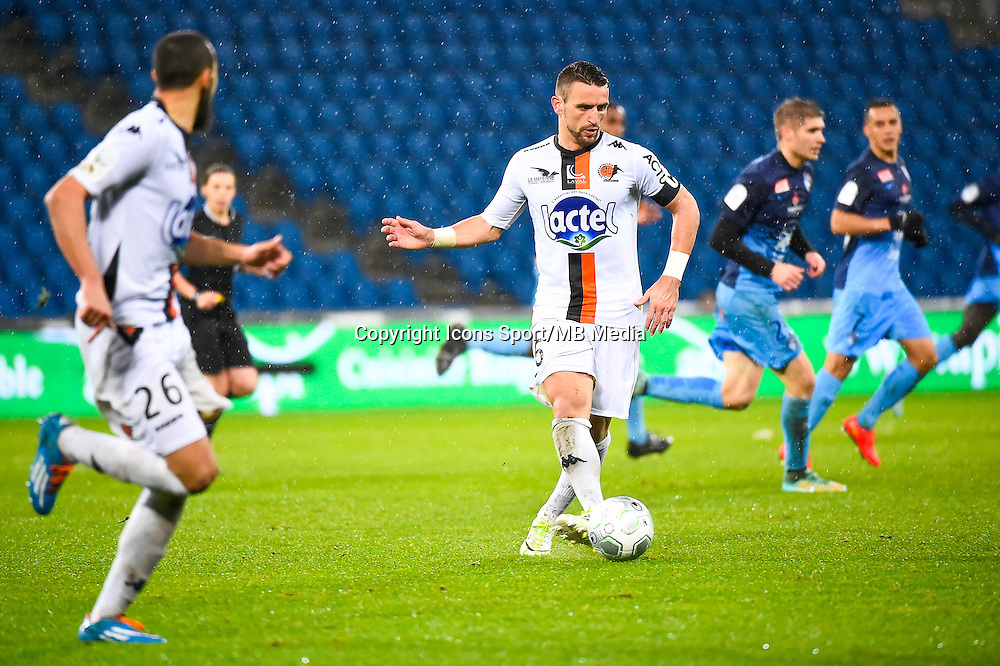 Anthony GONCALVES  - 12.12.2014 - Le Havre / Laval - 17eme journee de Ligue 2 <br /> Photo : Fred Porcu / Icon Sport