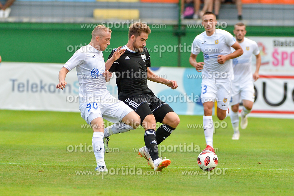 Zeni Husmani NK Domzale during football match between NS Mura and NK Domzale in 3rd Round of Prva liga Telekom Slovenije 2018/19, on Avgust 05, 2018 in Mestni stadion Fazanerija, Murska Sobota, Slovenia. Photo by Mario Horvat / Sportida