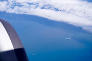 27-3-2018Opname vanuit een passsagiersvliegtuig van Ryanair van Dublin naar Eindhoven.Foto: Flip Franssen