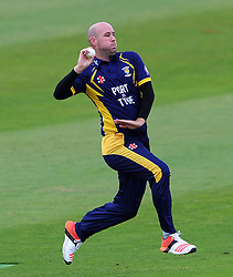 Durham's Chris Rushworth - Photo mandatory by-line: Harry Trump/JMP - Mobile: 07966 386802 - 29/07/15 - SPORT - CRICKET - Somerset v Durham - Royal London One Day Cup - The County Ground, Taunton, England.