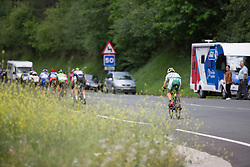 Katrin Garfoot (AUS) of Orica Scott Cycling Team chases the front group during Stage 3 of the Emakumeen Bira - a 77.6 km road race, starting and finishing in Antzuola on May 19, 2017, in Basque Country, Spain. (Photo by Balint Hamvas/Velofocus)