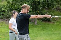 ROTTERDAM - NGF GolfStart bij Golfbaan De Hooge Rotterdamsche. olv van PGA pro Jelle Tarnóczy.    COPYRIGHT KOEN SUYK