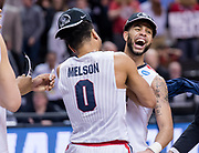 Gonzaga beat Xavier March 25 to advance to its first Final Four. (Photo by Edward Bell)