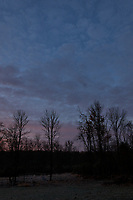Autumn Backyard Sunrise Panorama. Nine of nine images taken with a Leica CL camera and 18 mm f/2.8 lens (ISO 200, 18 mm, f/11, 1/60 sec). Raw images processed with Capture One Pro and the composite created using AutoPano Giga Pro.