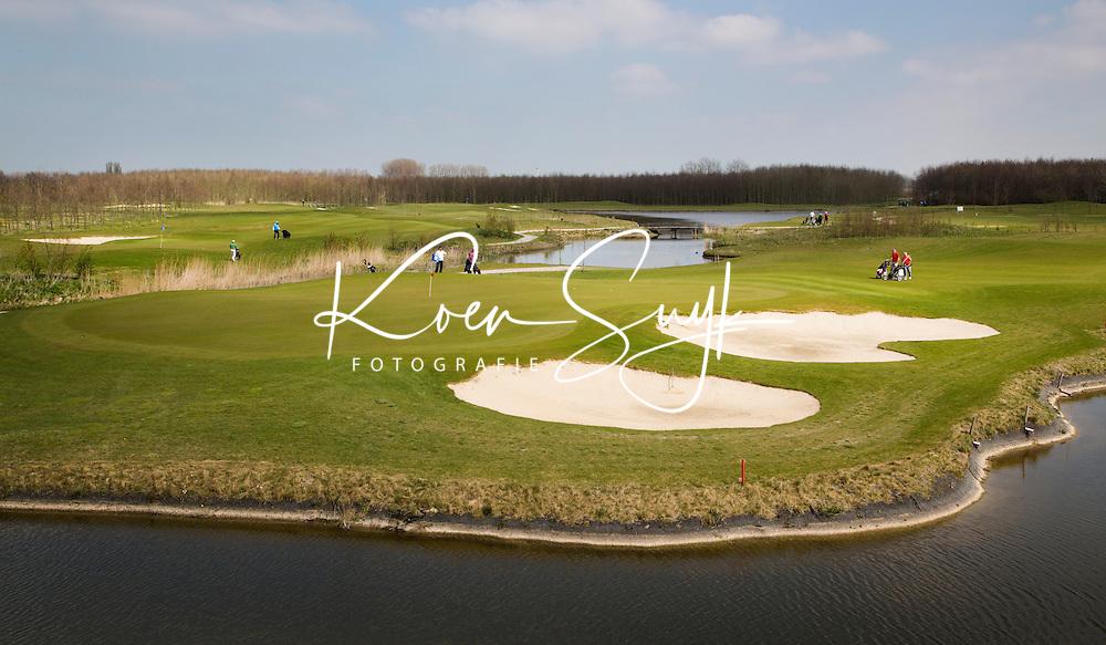 BENTHUIZEN - Golfbaan BENTWOUD. Hole A9, Oostwoud.  COPYRIGHT KOEN SUYK