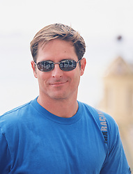 Good looking man wearing sunglasses