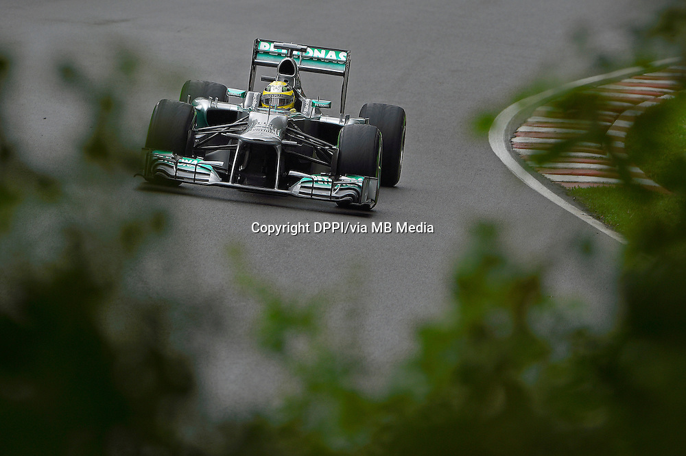 MOTORSPORT - F1 2013 - GRAND PRIX OF CANADA - MONTREAL (CAN) - 07 TO 09/06/2013 - PHOTO ERIC VARGIOLU / DPPI ROSBERG NICO (GER) - MERCEDES GP MGP W04 - ACTION