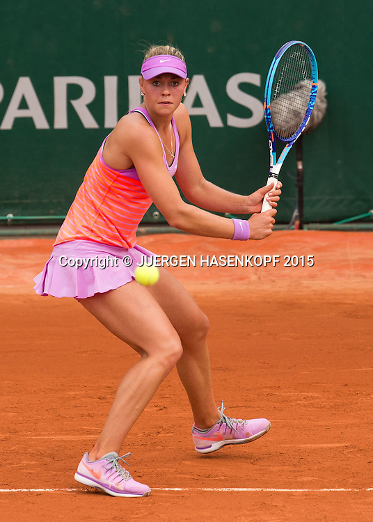 Carina Witthoeft (GER)<br /> <br /> Tennis - French Open 2015 - Grand Slam ITF / ATP / WTA -  Roland Garros - Paris -  - France  - 28 May 2015.