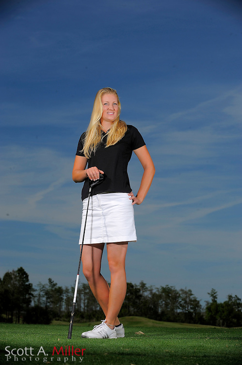 March 31, 2009, Daytona Beach, Fla: Anastasia Kostina of the Duramed Futures Tour Performance Team during a portrait session at LPGA International...© 2009 Scott A. Miller