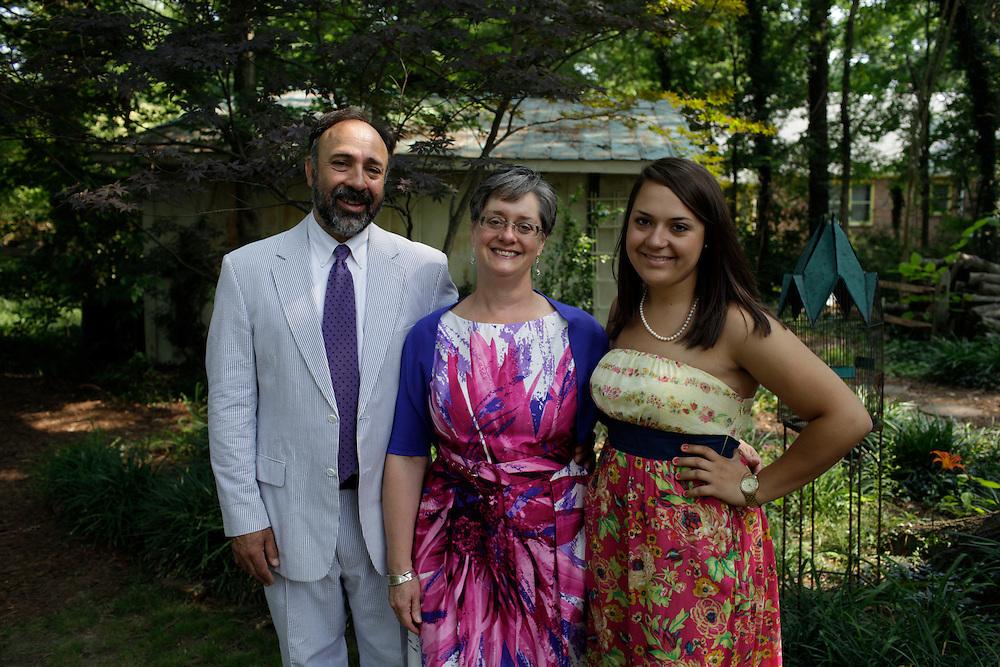 The Hart Family, Durham, N.C., JUne 9, 2011.