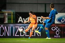 Renate Jansen of Nederland  during football match between Slovenia and Nederland in qualifying Round of Woman's qualifying for EURO 2021, on October 5, 2019 in Mestni stadion Fazanerija, Murska Sobota, Slovenia. Photo by Blaž Weindorfer / Sportida