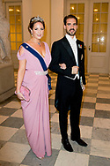 26-5-2018 COPENHAGEN - Prince Philippos of Griechenland and Theodora at the Crown Prince Frederik as he celebrates his 50th birthday during a Gala dinner at Christiansborg Castle in Copenhagen, Denmark, 26 May 2018. Crown Prince Frederik turns 50.  Copenhagen, on May 26, 2018, on the occasion of Crown Prince Frederik of Denmark 50th birthday  ROBIN UTRECHT