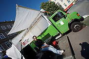 SOHO in Ottakring. OPEN HERE: consTRUCKtions conNEXTions by Munich artist Judith Egger. Travelling around Europe in a truck, interacting with local artist communities..Now in its 9th year, SOHO in Ottakring is an established art festival in public spaces of Vienna's 16th city district. In cooperation with the local community, up to 200 artists take part in the annual festival at the end of May/beginning of June. The festival is a huge success and has helped develop the formerly neglected and decaying district into a sprawling, 'hip' urban area. More info in German at: www.sohoinottakring.at