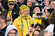 SYDNEY, NSW - AUGUST 18: Wallabies supporter at the Bledisloe Cup rugby test match between Australia and New Zealand at ANZ Stadium in Sydney on August 18, 2018. (Photo by Speed Media/Icon Sportswire)
