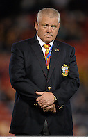 11 June 2013; British & Irish Lions head coach Warren Gatland. British & Irish Lions Tour 2013, Combined Country v British & Irish Lions, Hunter Stadium, Newcastle, NSW, Australia. Picture credit: Stephen McCarthy / SPORTSFILE