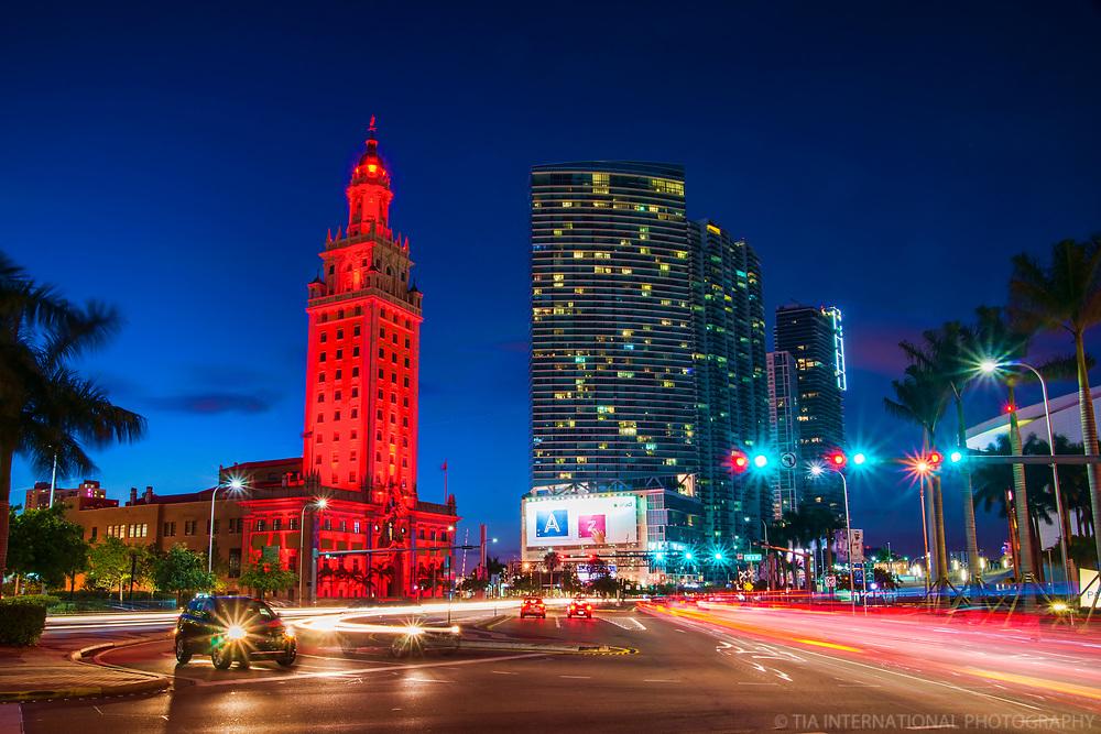Freedom Tower & Biscayne Boulevard