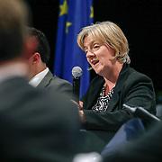 04 June 2015 - Belgium - Brussels - European Development Days - EDD - Closing Panel - From development aid to international Cooperation - Linda McAvan , Chair of the Committee on Development , European Parliament © European Union
