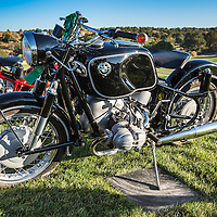 1967 BMW R69S in the early morning light, at the 2012 Santa Fe Concorso.