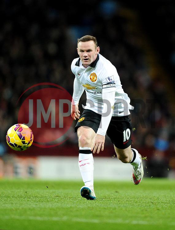 Manchester United's Wayne Rooney  - Photo mandatory by-line: Joe Meredith/JMP - Mobile: 07966 386802 - 20/12/2014 - SPORT - football - Birmingham - Villa Park - Aston Villa v Manchester United - Barclays Premier League