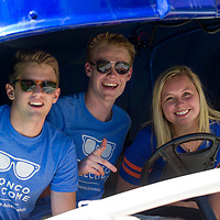 Convocation, March to the B, B on the Blue, Bronco Welcome, Allison Corona photo