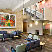 Dell Children's Hospital in Austin, Texas was designed by Karlsberger Architects in Columbus Ohio and completed in June of 2007. It's the first hospital in North America to achieve a platinum-level LEED certification. We shot this project over a period of a year, in three stages as the hospital was completed.