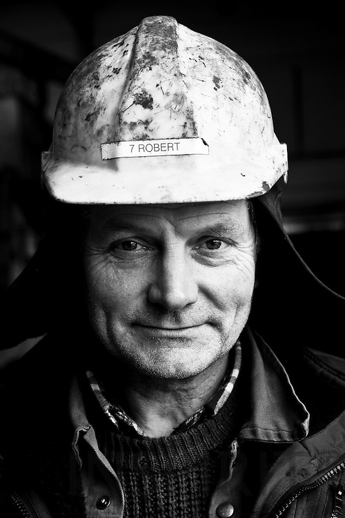 Robert Hansen, 54, for the last 10 years Machinist at Soeby Shipyard on the small Danish island Aeroe in the Baltic Sea where the shipyard has been since it was established in 1931.