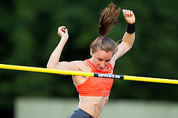 Nicole Buechler of Switzerland  competes at Pole Vault during 20th European Athletics Classic Meeting in Honour of Miners' Day in Velenje on July 1, 2015 in Stadium Velenje, Slovenia. Photo by Vid Ponikvar / Sportida