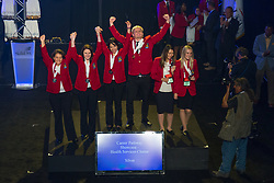 The 2017 SkillsUSA National Leadership and Skills Conference Competition Medalists were announced Friday, June 23, 2017 at Freedom Hall in Louisville. <br /> <br /> Career Pathways - Health Services<br /> <br /> Team AE (consisting of NHI TRIEU, MAIDA CHAVEZ, KARINA ARMIJO)<br />   High School Dubiski Career High School<br />   Gold Grand Prairie, TX<br /> Career Pathways - Health ServicesTeam AC (consisting of Savana Nossa, Chey Liss, Erica Vargas)<br />   High School EHOVE Career Center<br />   Silver Milan, OH<br /> Career Pathways - Health ServicesTeam AH (consisting of Caleb Liles, Taylor Adwell, Brianna Davenport)<br />   High School Northwest Tech School<br />   Bronze Maryville, MO<br /> Career Pathways - Health ServicesTeam AB (consisting of Whittney Zimmerman, Kayla Stanley, Stephanie Kelly)<br />   College Tennessee College of Applied Tech-Dickson<br />   Gold Dickson, TN<br /> Career Pathways - Health ServicesTeam AA (consisting of Arianna Burningham, Paige Burnham, Sawyer Guy)<br />   College Mountainland Applied Technology College<br />   Silver American Fork, UT<br /> Career Pathways - Health ServicesTeam AD (consisting of Megan Campbell, KRISTEN WILLIAMS, KELSIE JACOBS)<br />   College Northwest Florida State College<br />   Bronze Niceville, FL
