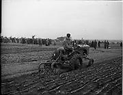 18/01/1954<br /> 01/18/1954<br /> 18 January 1954<br /> Ploughing Championships (Dublin) at Lispopple, Swords, Co. Dublin.