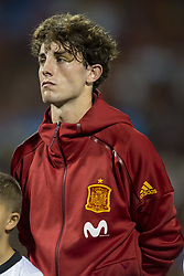 October 6, 2017 - Alicante, Spain - Odriozola (Real Sociedad) during the qualifying match for the World Cup Russia 2018 between Spain and Albaniaat the Jose Rico Perez stadium in Alicante, Spain on October 6, 2017. (Credit Image: © Jose Breton/NurPhoto via ZUMA Press)